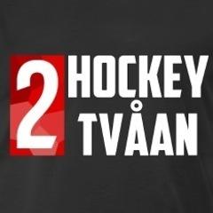 Sm square hockeytvaaan t shirt svart