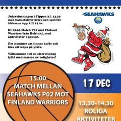 Sm square julavslutning basket 2016