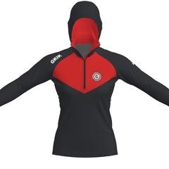 Sm square flex womens hoodie fram
