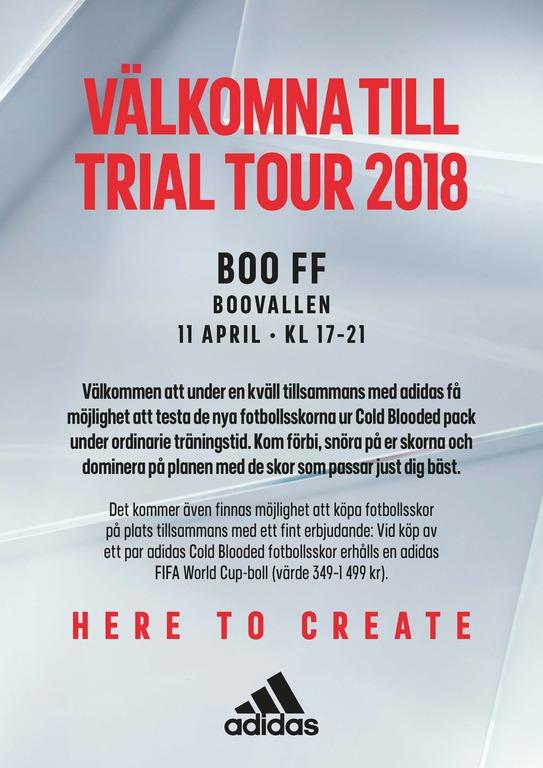 Adidas trials18 club trials a3 boo