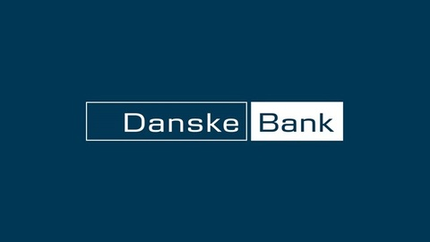 Md danske bank logo dark bg